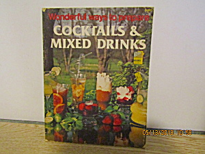 Vintage Book Cocktails & Mixed Drinks
