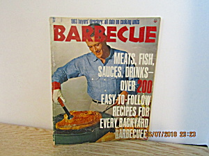 Vintage Cooking Magazine Barbecue 1963