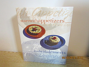 Vintagecookbook Start With Appetizers End With Desserts