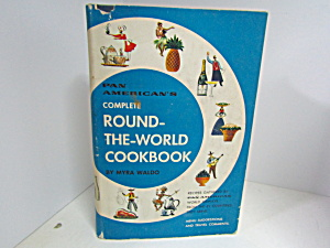Vintage Pan-american's Round The World Cook Book