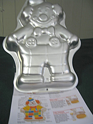 Vintage Wilton Cute Clown Cake Pan