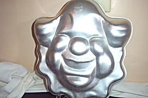 Vintage Wilton Clown Face Cake Pan