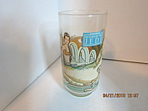 Coke-cola Star Wars Return Of The Jedi Drinking Glass