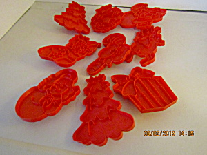 Vintage Wilton Christmas Large Cookie Cutter Set