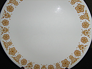Vintage Corelle Butterfly Gold Dinner Plate
