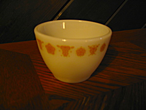 Butterfly Gold Covered Sugar Bowl