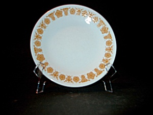 Vintage Corelle Butterfly Gold Bread/butter Plate