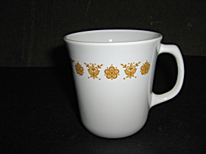 Vintage Corelle Golden Butterfly 8 Oz. Coffee Cup