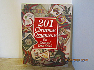 201 Christmas Ornaments For Counted Cross Stitch