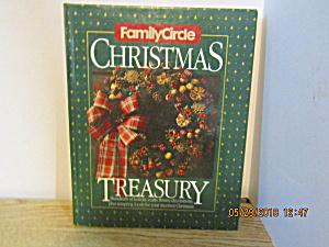 Craft Book Family Circle Christmas Treasury 1986 (Image1)