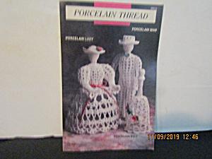 Vintage Booklet Porcelain Thread Lady Man & Bell (Image1)
