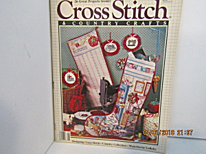 Cross Stitch & Country Crafts Magazine July/aug 1989