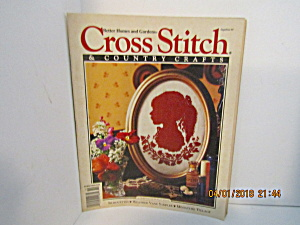 Cross Stitch & Country Crafts Magazine Sept/Oct 1991 (Image1)