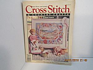 Cross Stitch & Country Crafts Magazine Jan/Feb 1992 (Image1)