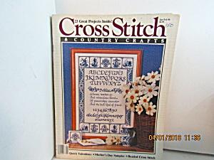 Cross Stitch & Country Crafts Magazine Jan/Feb 1986 (Image1)