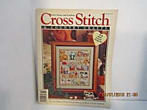 Cross Stitch & Country Crafts Magazine May/june 1993