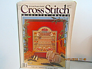 Cross Stitch & Country Crafts Magazine Jan/Feb 1987 (Image1)