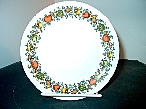 Vintage Corelle Spice Of Life Luncheon Plate