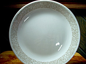 Vintage Corelle Woodland Brown Luncheon Plate
