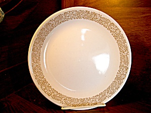 Corelle Retired Woodland Brown Bread\side Plate