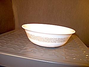 Vintage Corelle Woodland Brown Dessert Bowl (Image1)