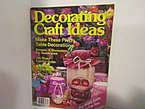 Vintage Magazine Decorating & Craft Ideas March 1984 (Image1)