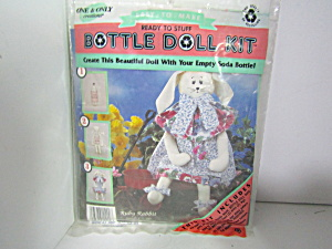 One & Only Creations Ruby Rabbit Bottle Doll Kit