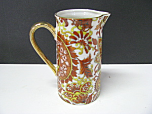 Royal Paisley Arnart 5th Ave Brown/yellow Pitcher