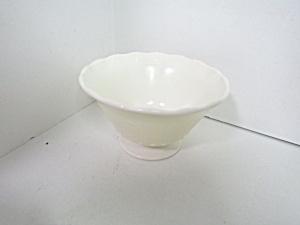 Elegant MacBeth-Evens Chinex Classic Ivory Dessert Bowl (Image1)