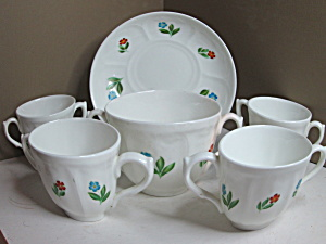 Vintage Adderley's England Bone China Set