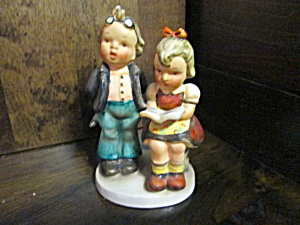 Vintage Napco Boy & Girl Figurines, Tutoring,