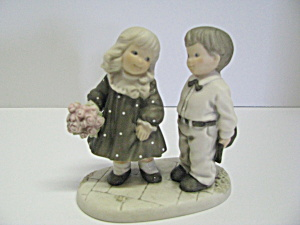 Enesco Figurine Child Born On The Sabbath Day