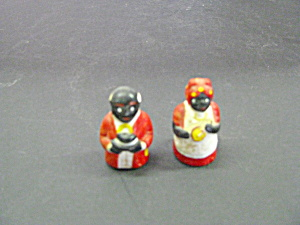 Vintage Miniature Aunt Jemima & Uncle Ben Figurines