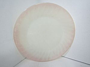 Vintage Fire King Pink Swirl Dinner Plate