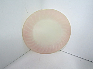 Vintage Fire King Pink Swirl Luncheon Plate