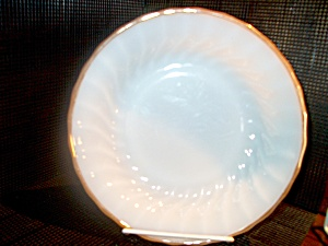 Vintage Fire King Golden Shell Luncheon Plate