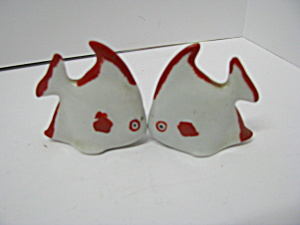 Vintage Kissing Fish Salt & Pepper Sets