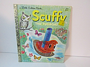 Little Golden Book Scuffy The Tug Boat