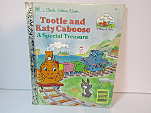 Little Golden Book Tootle And Katy Caboose