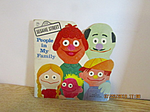 Vintage Golden Books Shape Book People In My Family