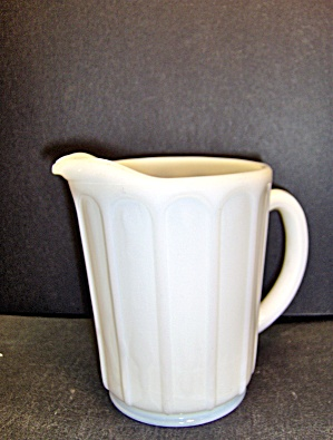 Vintage Hazel Atlas Milk Glass Small Pitcher
