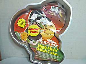 Wilton Vintage High Flyin' Witch Cake Pan