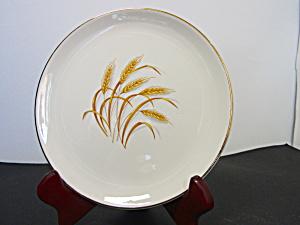 Vintage Homer Laughlin Golden Wheat Bread/ Butter Plate (Image1)