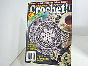 Vintage Magazine Hooked On Crochet #52