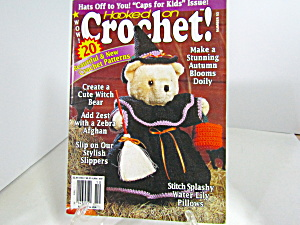 Vintage Magazine Hooked On Crochet #53