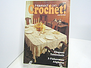 Vintage Magazine Hooked On Crochet #7