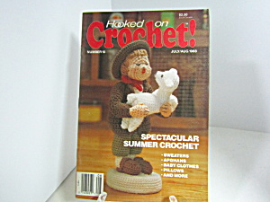 Vintage Magazine Hooked On Crochet #10