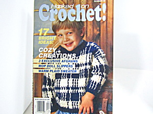 Vintage Magazine Hooked On Crochet #32