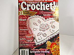 Vintage Magazine Hooked On Crochet #49