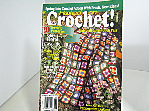 Vintage Magazine Hooked On Crochet #51
